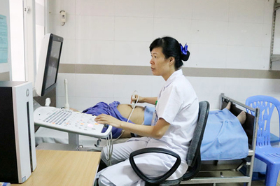 Thai 9 tháng chết lưu trong bụng mẹ do suy dinh dưỡng
