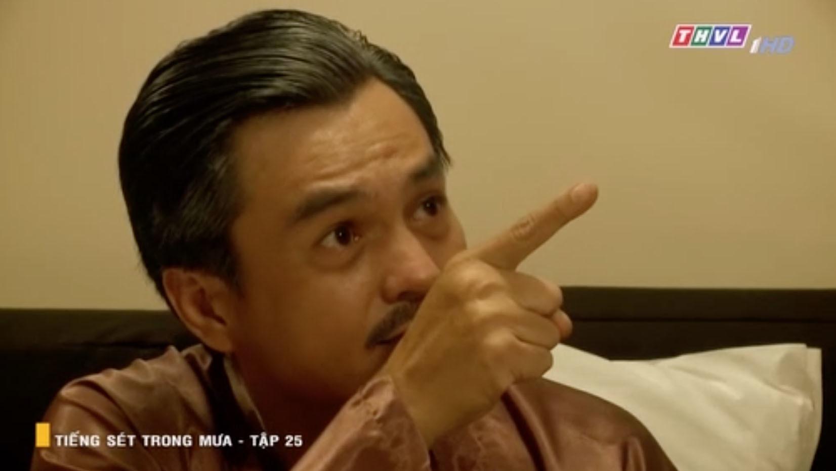 'Tiếng sét trong mưa' tập 25: Cao Minh Đạt không chịu ân ái vợ trẻ vì nhớ mùi tình cũ