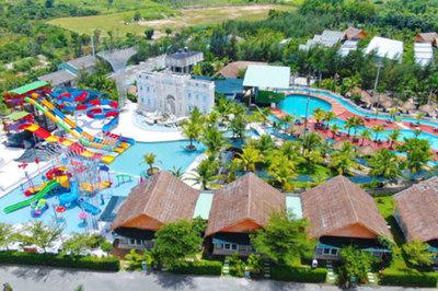 Công viên hồ khoáng 12.000m2 tại Eco Bangkok Villas Bình Châu có gì?