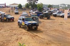 Vietnam Offroad Cup quenches speed junkies' thirst