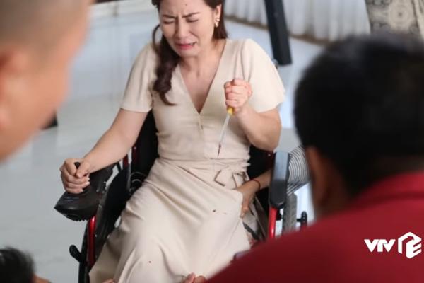 Sự thật sau cảnh phim đẫm máu của diễn viên Ngọc Lan trên sóng VTV