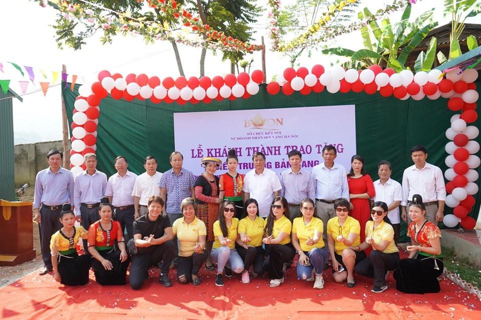 Người phụ nữ trao tặng 2 ngôi trường mầm non cho huyện vùng cao Sơn La
