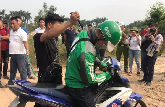 Tài xế grabbike,xe ôm công nghệ,Hà Nội,vụ án giết người
