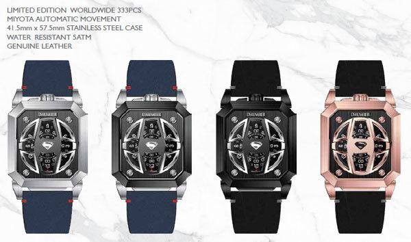 Đồng hồ siêu anh hùng chuẩn bị 'đổ bộ' Thế giới di động