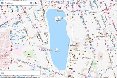 Vmap: Bản đồ số của người Việt chính thức đi vào hoạt động