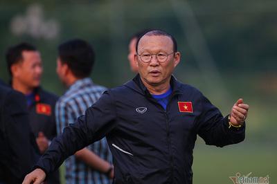 HLV Park Hang Seo cấm học trò tiết lộ kết quả trận đấu nội bộ