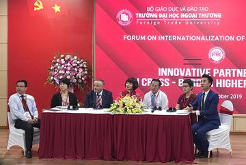 Đổi mới mô hình hợp tác quốc tế tại các cơ sở giáo dục đại học