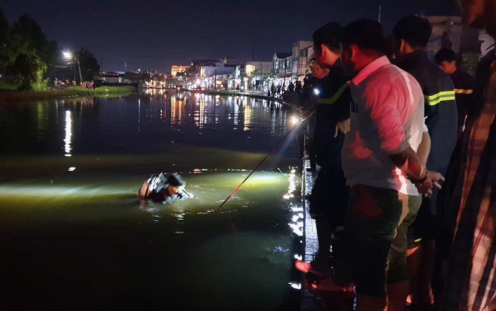 Gia cảnh khó tin của người phụ nữ lao xe xuống hồ tử vong khi triều cường