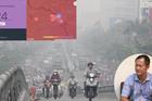 Ô nhiễm không khí có thời điểm ở mức xấu
