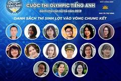 15 thí sinh lọt chung kết cuộc thi Tiếng Anh cho cán bộ trẻ năm 2019