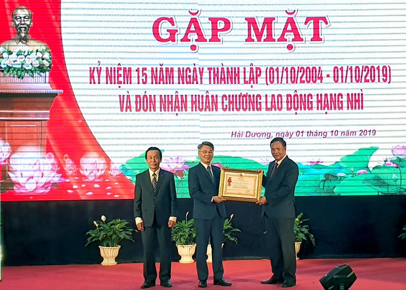 Bộ TT&TT sẽ song hành cùng Hải Dương triển khai chính phủ điện tử