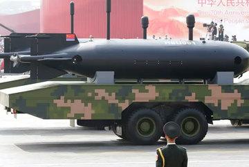 Lộ diện thiết bị lặn không người lái của TQ ở lễ duyệt binh