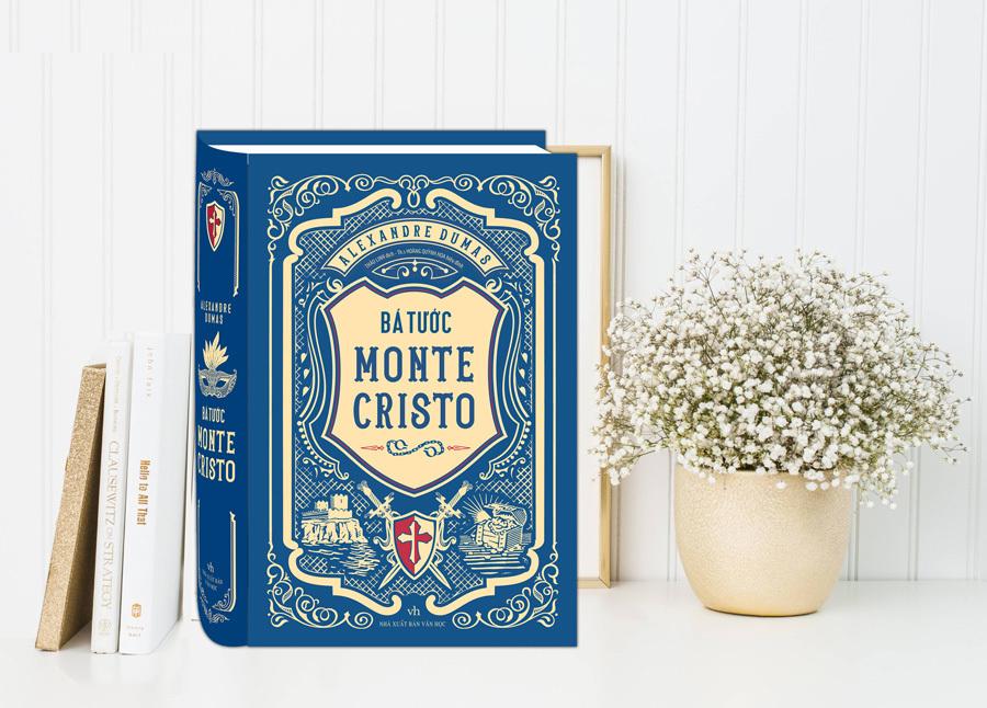 Tiểu thuyết 'Bá tước Monte Cristo' ra mắt bản dịch mới