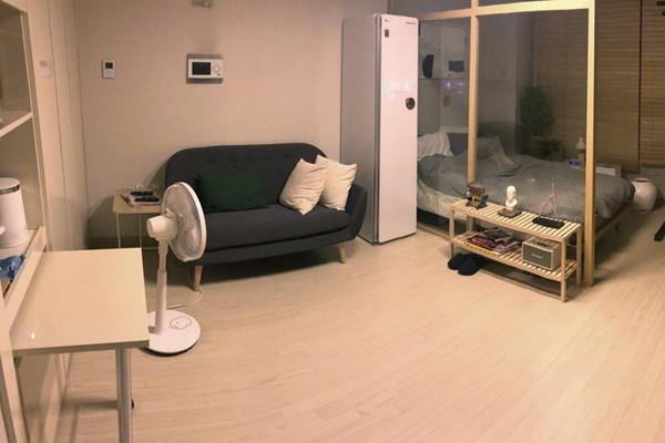 Nhiều bạn trẻ châu Á thích sống trong căn hộ chỉ bé bằng phòng tắm