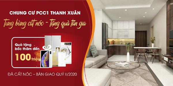 Tặng quà tới 100 triệu đồng dịp cất nóc PCC1 Thanh Xuân