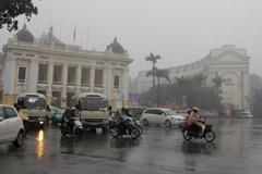 Dự báo thời tiết 3/10, Hà Nội đón mưa, ô nhiễm không khí có thể giảm
