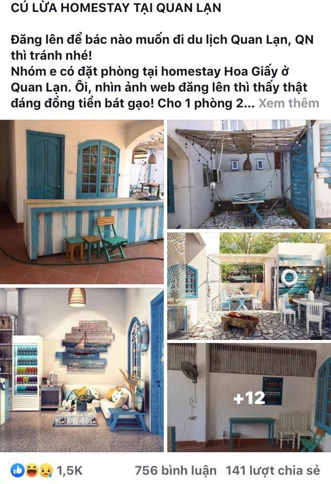 Homestay Quảng Ninh bị tố bán phòng xập xệ, khác xa ảnh