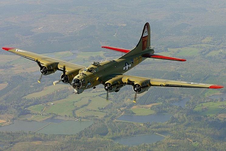 máy bay ném bom,B-17,tai nạn máy bay,máy bay Mỹ
