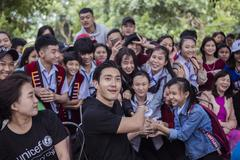 Korean star Choi Siwon and UNICEF join hands to stop bullying in Vietnam