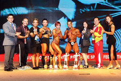 Vietnam win five golds at Asian Bodybuilding and Physique Sports Champs