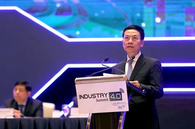 Toàn văn tham luận của Bộ trưởng Nguyễn Mạnh Hùng tại Diễn đàn cấp cao về Công nghiệp 4.0 2019