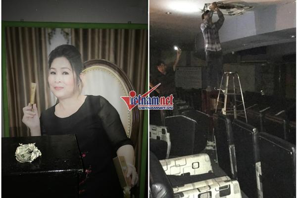 Sân khấu 14 năm của Hồng Vân đang tháo dỡ, trang thiết bị ngổn ngang