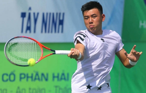 Ly Hoang Nam enters second round of ITF World Tennis Tour