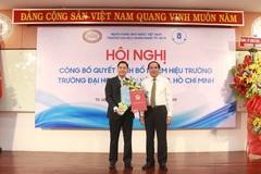 Trường ĐH Ngân hàng TPHCM bổ nhiệm tân Hiệu trưởng