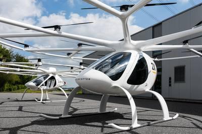 Singapore sắp triển khai dịch vụ taxi trực thăng
