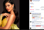 Photo of Kieu Loan tops poll on Miss Grand's official fan page