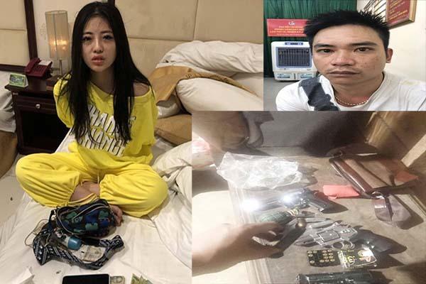 Trùm ma túy thủ cả 'mớ' súng đạn, vợ hotgirl tuồn hàng ở Sài Gòn