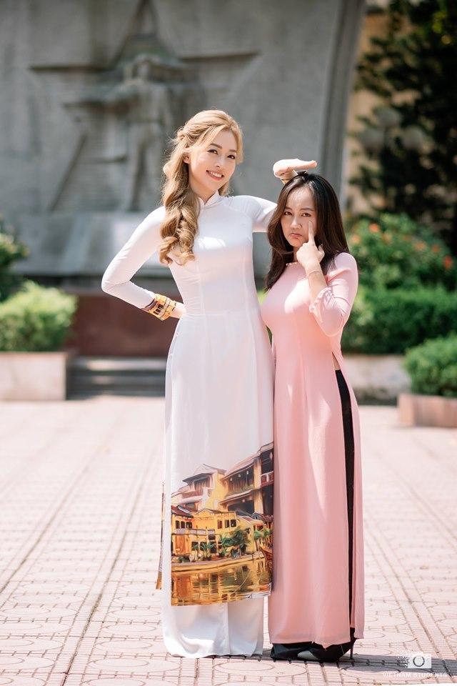 Hình ảnh trong trẻo chia tay tuổi sinh viên của Á hậu Bùi Phương Nga