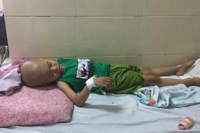 Bố mẹ ly dị, cháu bé 4 tuổi bị ung thư ngày đêm gào khóc bên bà ngoại