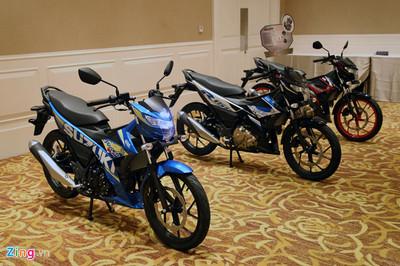 Hơn 4.000 xe Suzuki Raider bị lỗi mối hàn khung ở Việt Nam