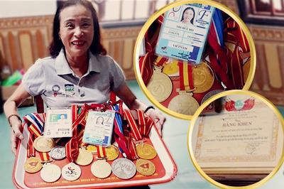 Bà chủ khuyết tật giành 120 huy chương, mở xưởng gỗ cho người nghèo