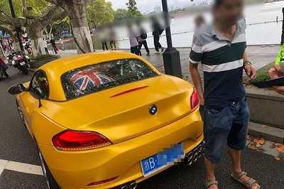Thanh niên bị cảnh sát bắt phạt vì độ 16 ống xả ồn ào cho BMW Z4