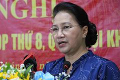 Chủ tịch Quốc hội: 'Người nào chạy chức, chạy quyền là không dùng'