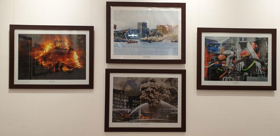 Hình ảnh đẹp của các chiến sĩ PCCC qua những bức ảnh