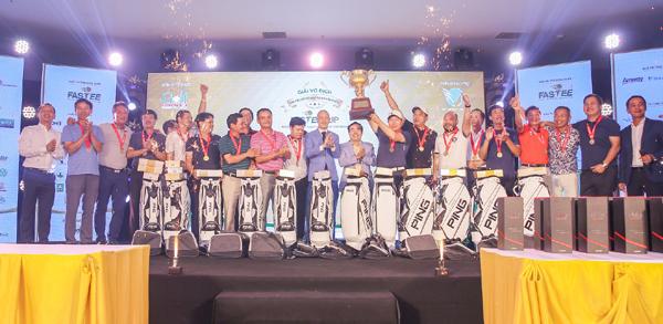 KB Cầu Giấy vô địch giải Các CLB Golf Hà Nội Fastee Cup 2019