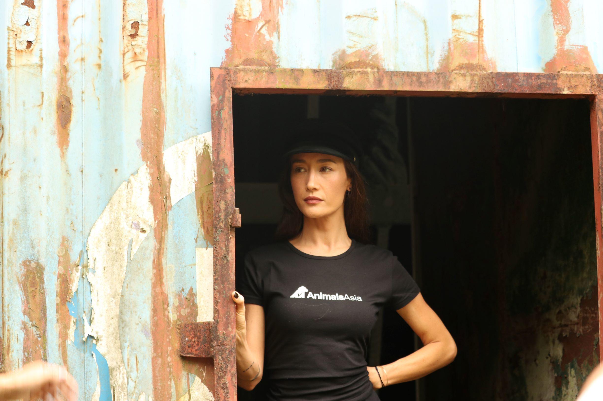 Mỹ nhân gốc Việt Maggie Q tới Việt Nam tham gia chiến dịch bảo vệ động vật