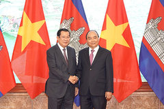 Việt Nam-Campuchia: Quan hệ anh em gắn kết, bền chặt không thể tách rời