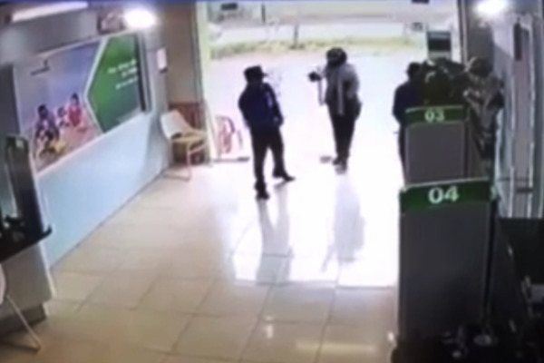 Thượng úy công an là người nổ súng ở ngân hàng tại Thanh Hóa