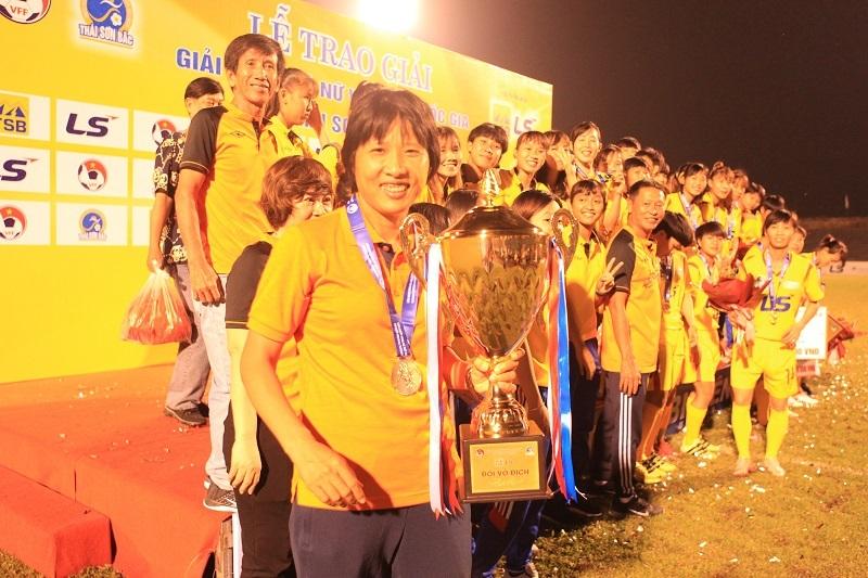 Bóng đá nữ,Giải nữ VĐQG 2019,TP.HCM I,Hà Nội,TKS Việt Nam