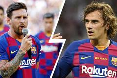 Barca rắp tâm bán Griezmann vì bị Messi ghét