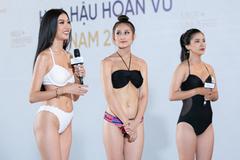 Hoa hậu Hoàn vũ Việt Nam gây tranh cãi khi vừa lên sóng tập một