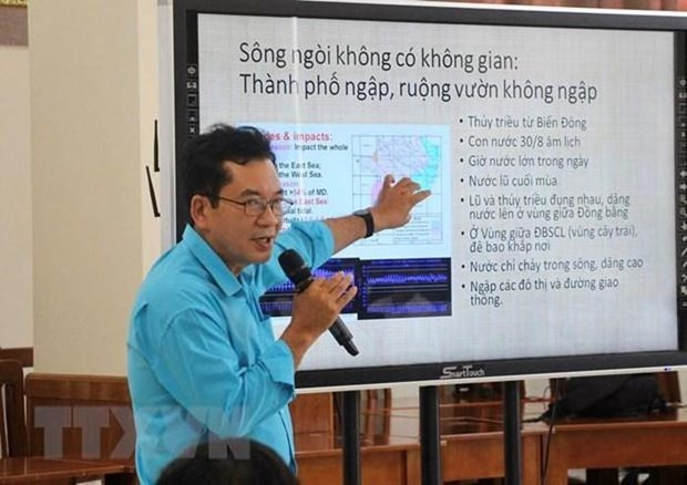 Mekong Delta region,An Giang province,Agribank,aquatic creatures,alluvium and sand,late floods,exploitation of groundwater,saline intrusion