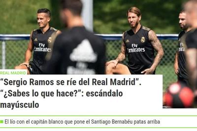 Vì tiền, Sergio Ramos làm loạn Real Madrid