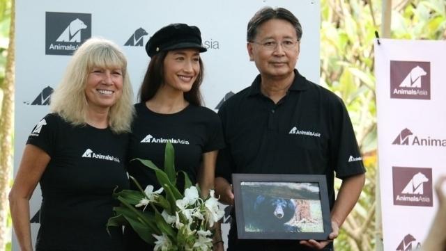 Hollywood star Maggie Q,Vietnam Bear Rescue Centre in Tam Dao,wildlife reservation,Vietnam environment