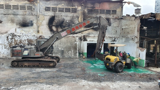 Detoxification at Rang Dong warehouse fire to be finished soon