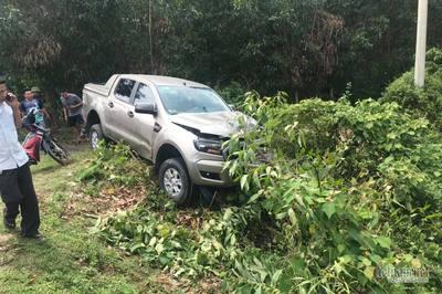 Va chạm xe bán tải, vợ chồng trẻ Hà Tĩnh tử nạn